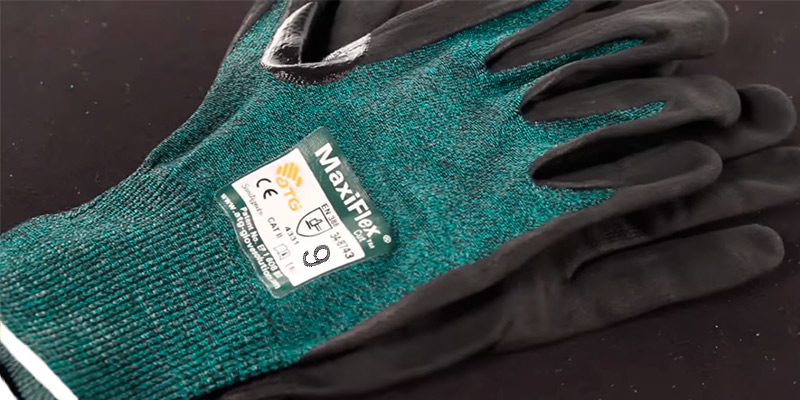 Review of MaxiFlex (3 Pack) 34-8743 Premium Nitrile Coated Cut Resistant Work Gloves