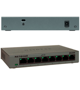 NETGEAR GS308-100PAS 8-Port Gigabit Ethernet Unmanaged Switch, Sturdy Metal