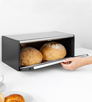 Review of Brabantia 299186 Fall Front Bread Box