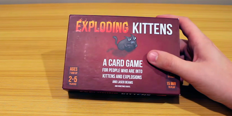 Review of Exploding Kittens Card Game for People who are into kittens and explosions