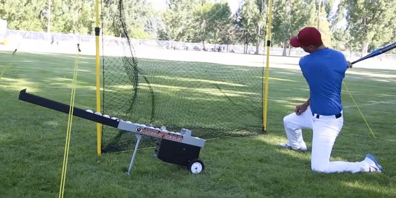 Detailed review of Athlonic Automatic Baseball Pitching Machine