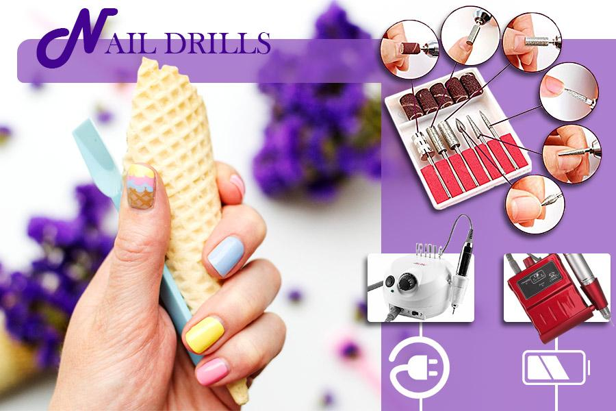 Comparison of Electric Nail Drills - Easy-to-use Machines for Perfect Manicure