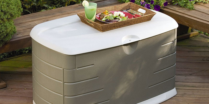 Detailed review of Rubbermaid Deck Box with Seat