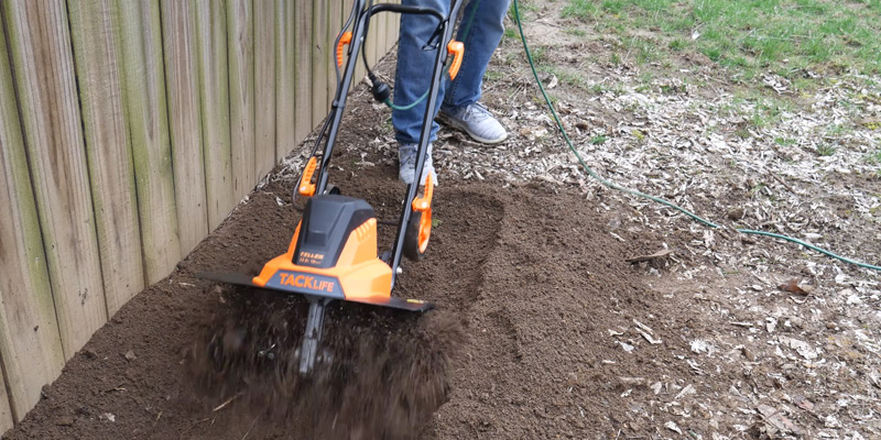 Review of TACKLIFE Electric Tiller 13.5 Amp Tiller Cultivator