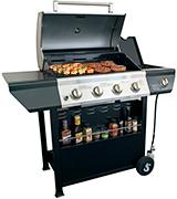SUPER SPACE 4-Burner BBQ Gas Grill