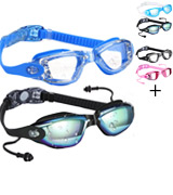 COOLOO Pack of 2 Swimming Goggles Swim Goggles