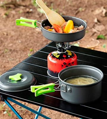 Review of G4Free 4/13 Piece Camping Cookware Mess Kit