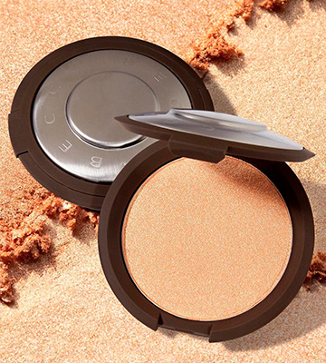 Review of Becca Cosmetics Shimmering Skin Perfector Pressed Highlighter