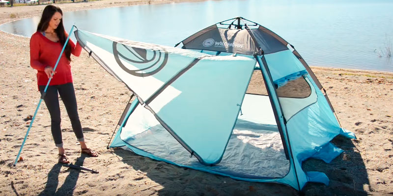 Detailed review of WildHorn Outfitters Sun Escape XL QuickUp Cabana Beach Tent