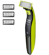 Philips Norelco QP2520/70 OneBlade hybrid electric trimmer and shaver