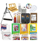 US Art Supply Deluxe Artist Painting Set