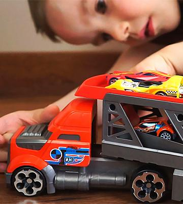 Review of Hot Wheels City Blastin' Rig Toy Cars