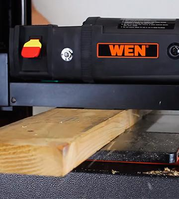 Review of WEN 6550 Benchtop Thickness Planer with Granite Table