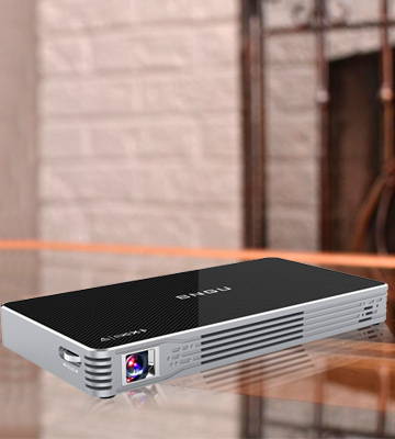 Review of BNGU c800w Portable Video Projector