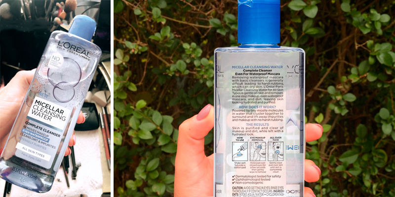 Review of L'Oreal Paris Micellar Cleansing Water Complete Cleanser