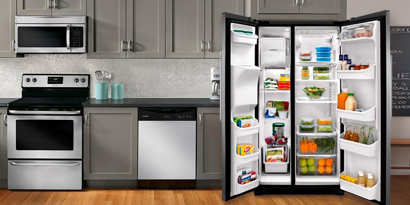 Review of Frigidaire 25.6 Cu.Ft Side-by-Side Refrigerator