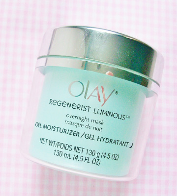 Review of Olay Regenerist Luminous Face Mask