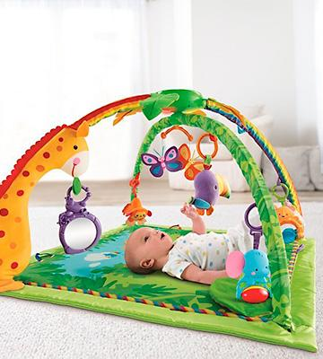 Review of Fisher-Price K4562 Rainforest Melodies and Lights Deluxe Gym