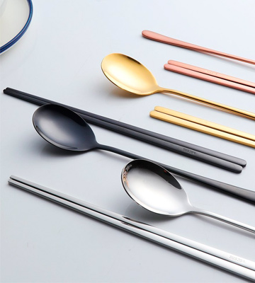Review of Buyer Star Metal Korean Chopsticks Set