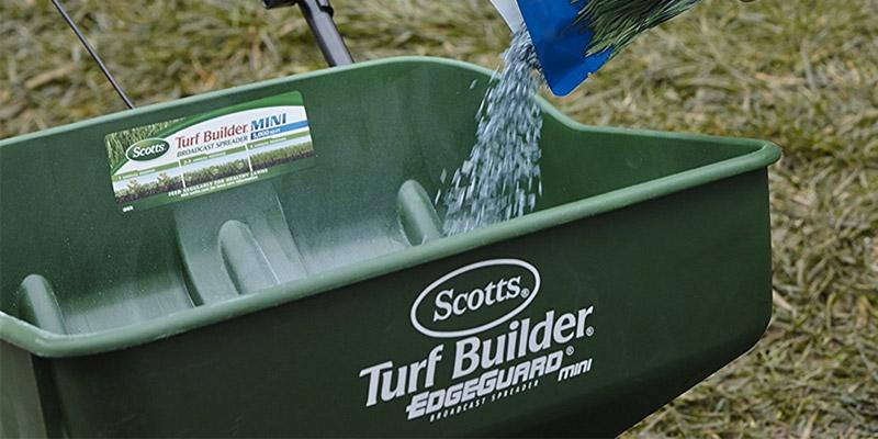 Review of Scotts Turf Builder EdgeGuard Mini