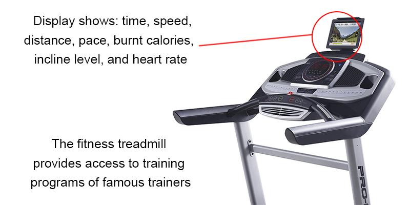 ProForm Power 995i (PFTL99715) Exercise Treadmill in the use