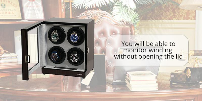 Review of Belocia Four Automatic Watch Winder