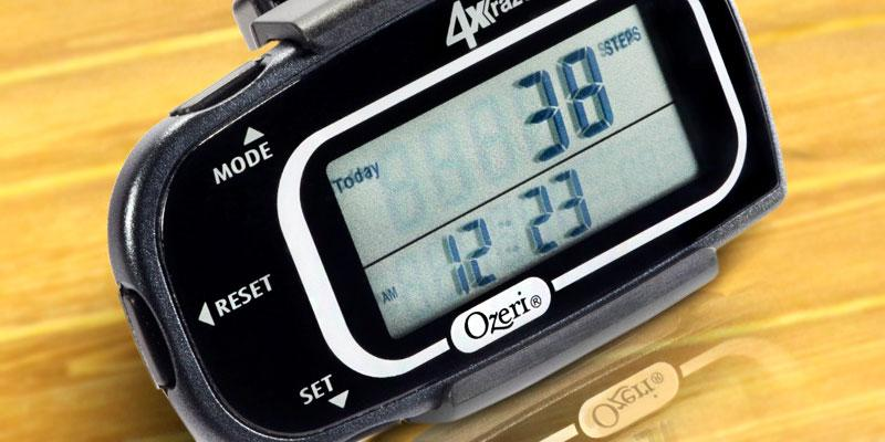 Detailed review of Ozeri PD4X3-2 Step Counter