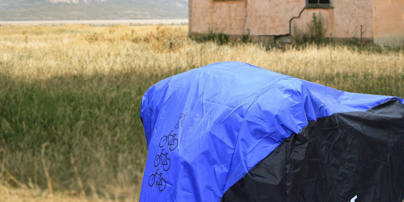 Review of Aiskaer 2:210D OXFORD Waterproof 3 Bikes Bicycle Cover Outdoor Rain Protector