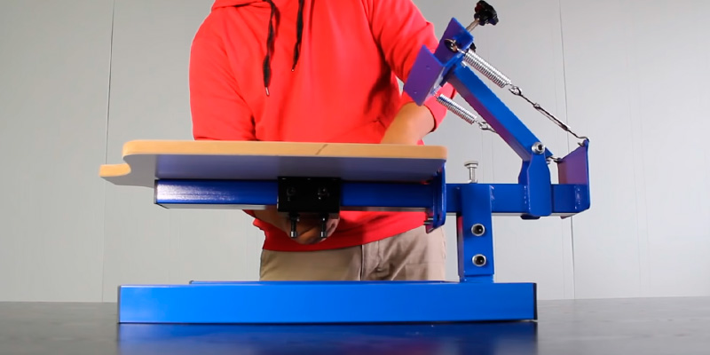 Review of Commercial Bargains NS101 Screen Printing Machine