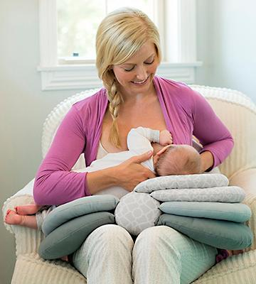 Review of Infantino Elevate Adjustable Nursing Pillow