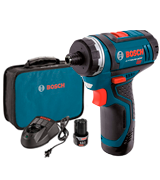 Bosch PS21-2A 12-Volt Max Lithium-Ion 2-Speed Pocket Driver Kit