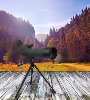 Review of Emarth Waterproof Angled Spotting Scope