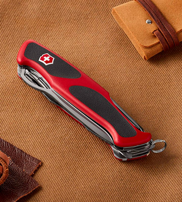 Review of Victorinox RangerGrip 58 Hunter Swiss Army Knife