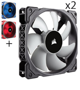 Corsair ML120 20mm Premium Magnetic Levitation Fan (2-Pack)