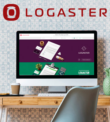 Review of LOGASTER Logo Maker: Create Your Logo Online in a Minute