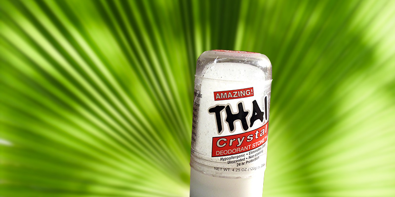 Review of THAI Natural Crystal Unscented, 4.25 oz Deodorant Stick