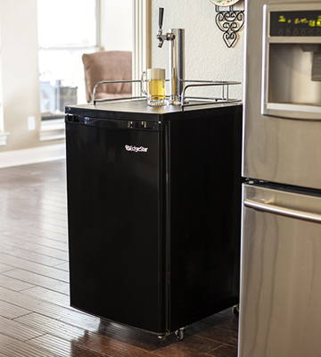 Review of EdgeStar KC2000 Full Size Kegerator and Keg Beer Cooler