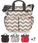 Skip Hop 200306 Baby Duo Signature Diaper Bag
