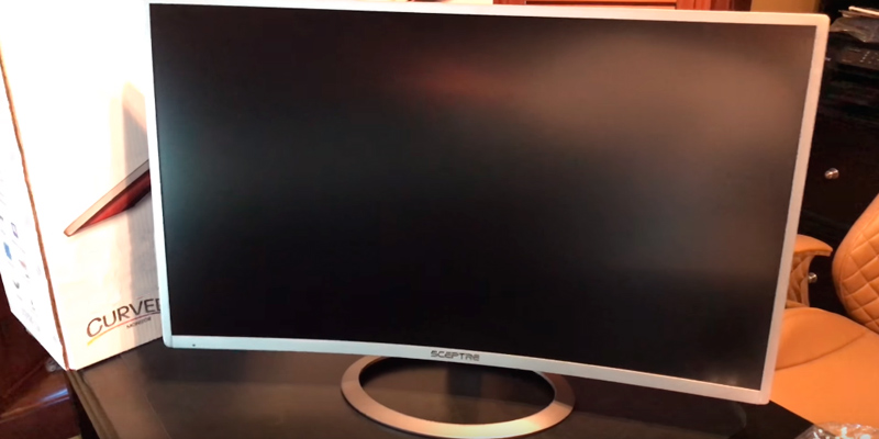 Review of Sceptre C278W-1920R 27-Inch Curved Monitor (FullHD, 75Hz)