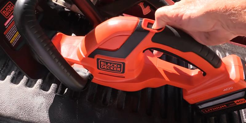 "Review of BLACK + DECKER LHT2436 Cordless 24"" 40V Hedge Trimmer"