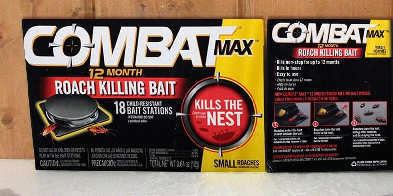 Combat Small Roach Bait Station in the use