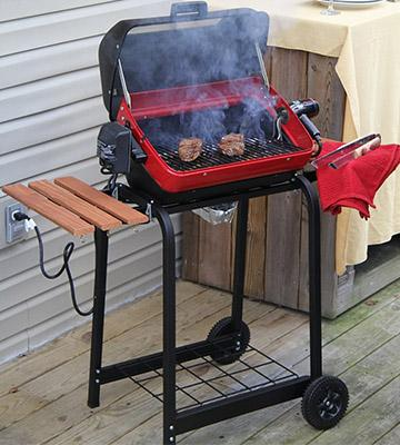 Review of Meco Cart Outdoor Electric Grill