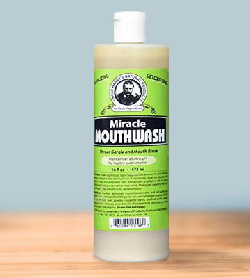 Review of Uncle Harry's Natural Products Miracle Mouthwash Uncle Harry's Natural Alkalizing