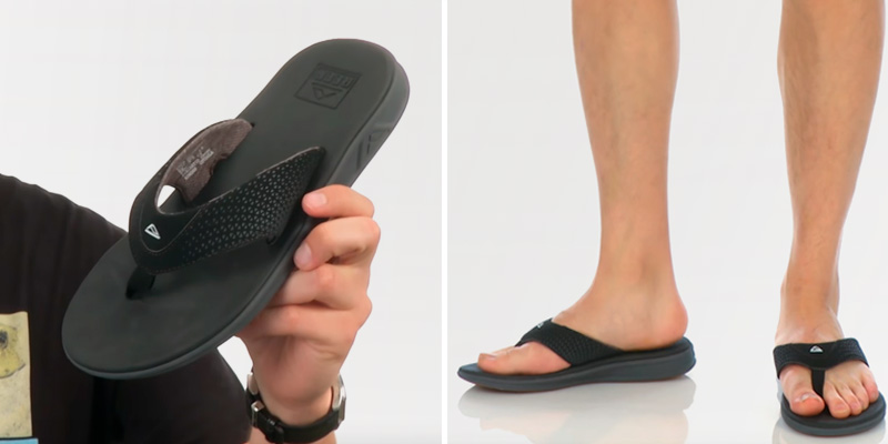 Review of REEF Rover Soft Cushion Footbed Athletic Flip Flops
