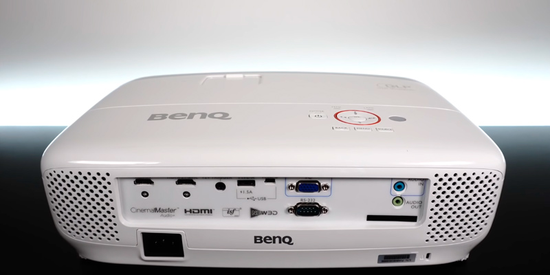 BenQ HT2150ST Short Throw Projector in the use