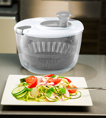 Review of Gourmia GSA9240 Jumbo Salad Spinner