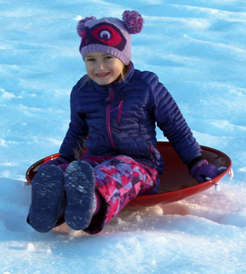 Review of Flexible Flyer Metal Disc Saucer Snow Sled