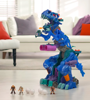 Review of Fisher-Price Imaginext Ultra T-Rex - Ice
