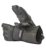 Blok-IT Motorbikes all seasons Leather Motorcycle Gloves 3M Thinsulate Material
