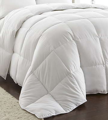 Review of Chezmoi Collection Comforter White Goose Down Alternative, Queen Size